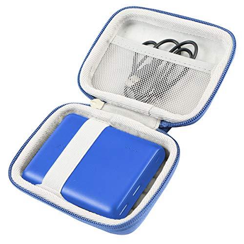 Khanka Duro Viaje Estuche Bolso Funda para Anker PowerCore 13000 Portable Charger (Azul)