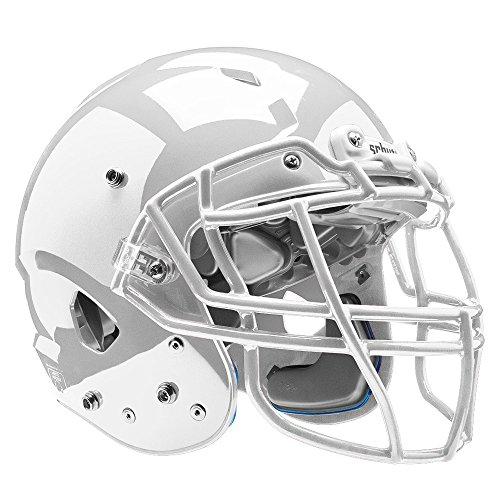 Schutt Sports Vengeance VTD II Football Helmet Without Faceguard, White, Large