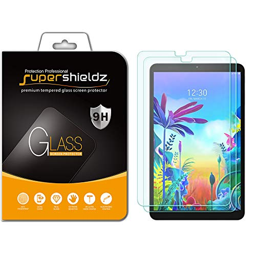 Supershieldz (2 Pack) for LG G Pad 5 10.1 FHD Screen Protector, (Tempered Glass) Anti Scratch, Bubble Free