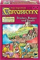 カルカソンヌ拡張セット8 橋、城、バザール (Carcassonne: Erweiterung 8: Brucken, Burgen & Basare) ボードゲーム [並行輸入品]