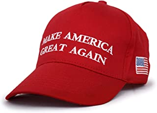 Make America Great Again Hat, 2020 Trump Keep America Great Cotton MAGA Baseball Cap Red