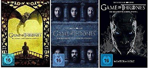 Game of Thrones Staffel 5-7 (5+6+7) [DVD Set]