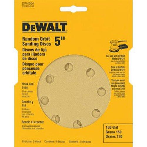 DEWALT Discos Lixa de 5 Pol. (127mm) DW4304