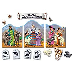 The Ten Commandments Bulletin Board Set