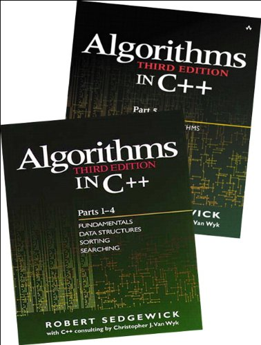 Bundle of Algorithms in C++, Parts 1-5: Fundamentals, Data Structures, Sorting, Searching, and Graph