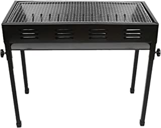 Barbecue grill Barbecue Outdoor Barbecue BBQ Tool Camping Cooking Outdoor Picnic Patio Backyard Tailgating Steel Cooking f...