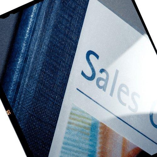 Leitz 7399-00-35 Bindegeräte, Laminiergeräte und Zubehör Buchbindemappe A4 blau