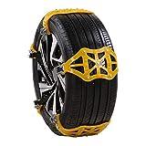 Corlidea, catene da neve universali per auto, catene antiscivolo per auto, SUV, camion, auto, larghezza pneumatici 165 mm - 265 mm