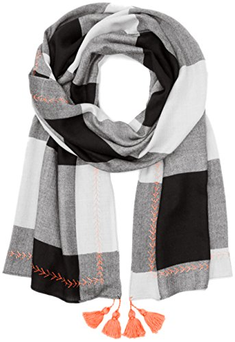 PIECES Damen PCPRYNE LONG SCARF Schal, Grau (Papyrus), One Size
