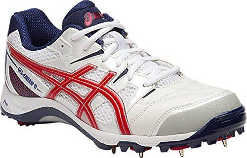 ASICS Men s Gel Gully 5 White True Red