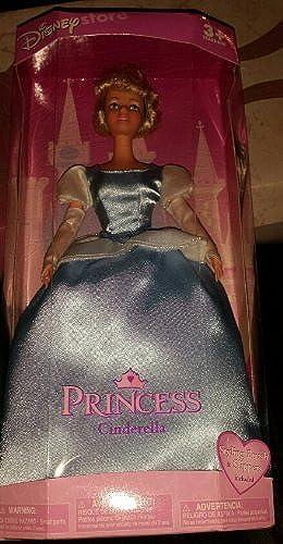 Disney Store Princess Cinderella Doll by Disney Store Princess