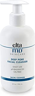 EltaMD Deep Pore Facial Cleanser for Unisex 8 oz Cleanser, 236 ml