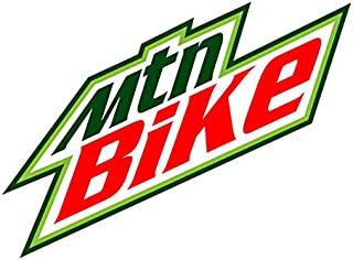 Mtn Bike (Bumper Sticker)