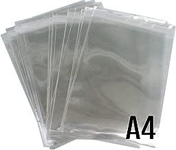 Disponibles en paq 100 y 1.000 uds celofan con Solapa 20x30 de Celof/án Transparente Efecto Cristal Cierre Banda Autoadhesiva. 100 Bolsas de 20 x 30 cm