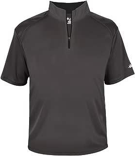 Graphite Adult Medium 1/4 Zip Wicking Pullover