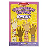 Melissa & Doug Temporary Tattoos: Jewelry - 130+ Kid-Friendly Tattoos (Great Gift for Girls and Boys - Best for 3, 4, 5, 6, 7 Year Olds and Up)