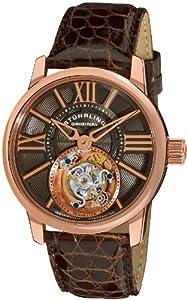 Stuhrling Original Men's 296D.334X54 Tourbillon Viceroy Tourbillon Limited Edition Mechanical Brown Watch image