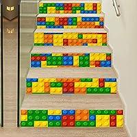 JJD クリエイティブコリドー階段ステッカーDIYの子供用防水階段装飾ウォールステッカー
