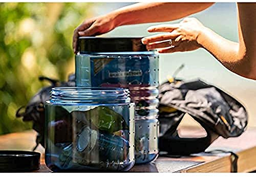 BearVault BV500 Bear Canister for Backpacking - Large 7 Day Bear Container