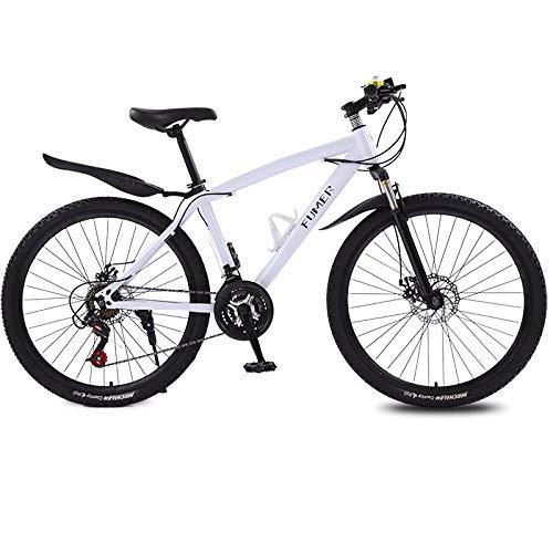 Implicitw Vélo de montagne 21 vitesses 26 pouces double freins à disque à vitesse variable 26\