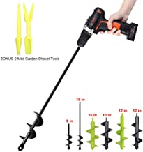 Best hand earth drill Reviews