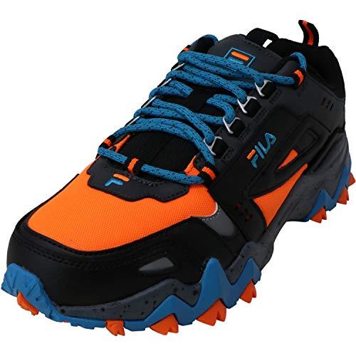 Fila Mens Oakmont Tr Sneaker - Grey Orange,Grey Orange,9