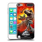 Head Case Designs Officially Licensed Jurassic World Dinosaurs Key Art Soft Gel Case Compatible with Apple iPod Touch 5G...