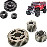 Transmission Gear Set(20T+28T+53T) R86027 for EX86100 RGT Rock Crawler 1/10 Scale RC Cars (Metal Material)