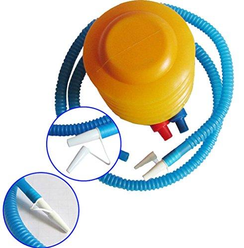 EOZY Gonfleur Portable Pompe à Pied Pratique en Plastique Haute Qualité Jaune
