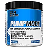Evlution Nutrition Pump Mode Nitric Oxide Booster to Support Intense Pumps, Performance and...