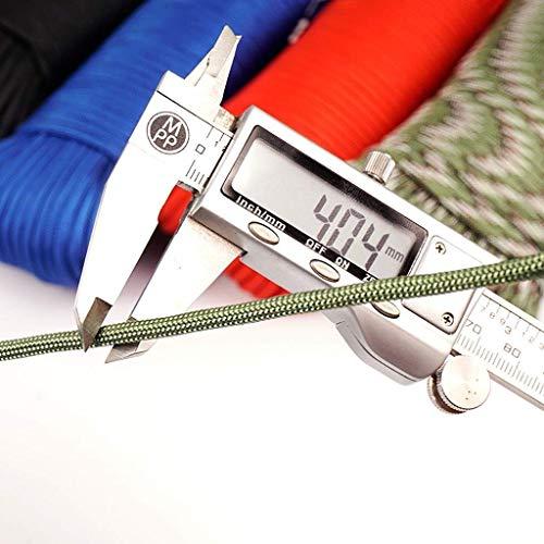 ZSM Regla Militar Cuerda de Escalada Cuerda Original 9 20 / 31m Camping/Escalada/Senderismo/Desgaste de Buceo Actividades de Cuerdas múltiples Colores YMIK (Color : C, Size : 20m)