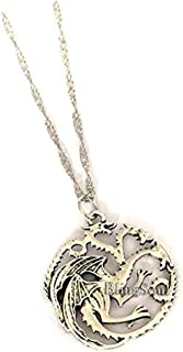 Blingsoul Things Stranger Necklace - Heart Pendant Light Halloween Jewelry for Women