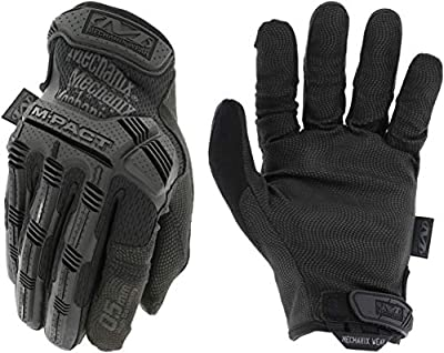 Mechanix Wear: M-Pact 0.5mm High-Dexterity Covert Tactical Work Gloves (X-Large, All Black)