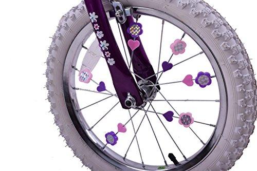 Ammaco Pink & Purple Colourful Bike Wheel Spoke Beads Kids Fun Spokey Dokeys Clip On Set Of 25