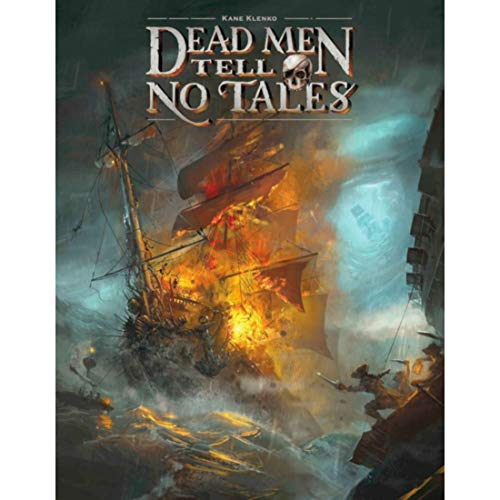 Minion Games Dead Men Tell No Tales Strategy Boxed Board Game Ages 12 & Up