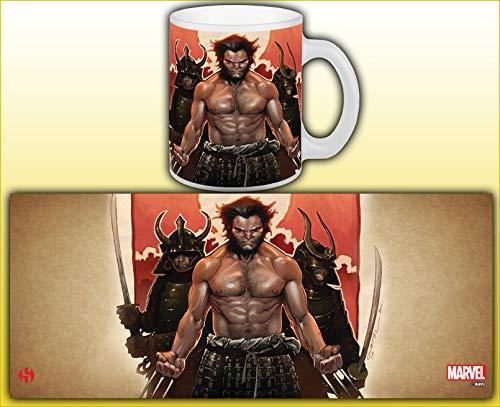 Distribución Semic - Smug035 - Muebles y Decoración - Taza Wolverine - Serie 1 - Samurai