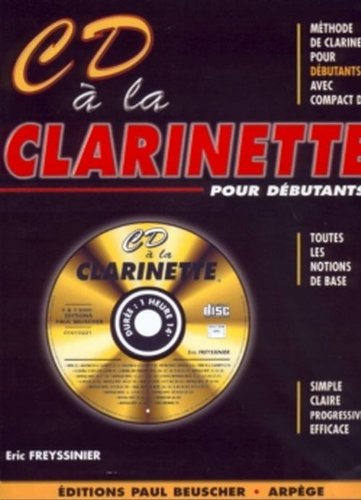 Partition : CD a la clarinette