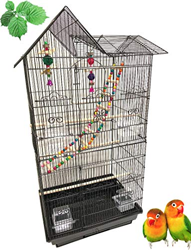 Large Double Roof Top Flight Bird Cage