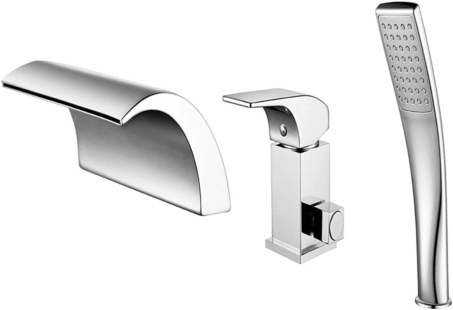 LXKY Faucet - all copper hot and cold waterfall faucet, bathtub faucet, bathroom hotel