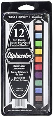 Quartet Alphacolor Soft Square Pastels, Multi-Colored
