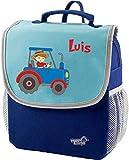 Mein Zwergenland | Kindergartenrucksack | Happy Knirps Next | Personalisierter Rucksack mit Namen |...