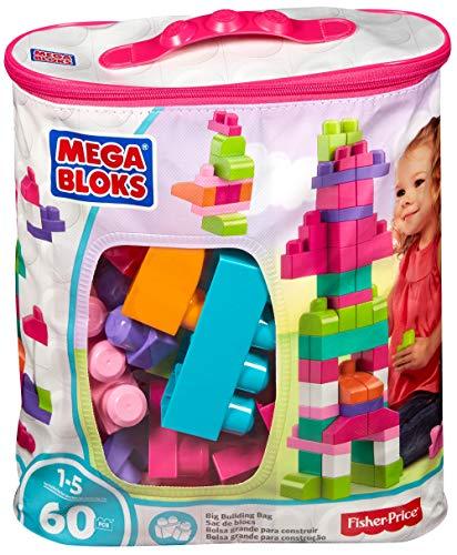 Mega Bloks Sac Rose, jeu de blocs de construction, 60...