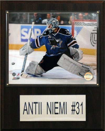 NHL Antii Niemi San Jose Sharks Player Plaque