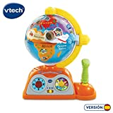 VTech - Globo multiaventuras, infantil interactivo que enseña geografía,...