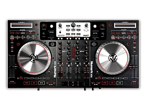 of dj tech dj amps dec 2021 theres one clear winner Numark NS6 Professional 4-Channel DJ Controller with Serato