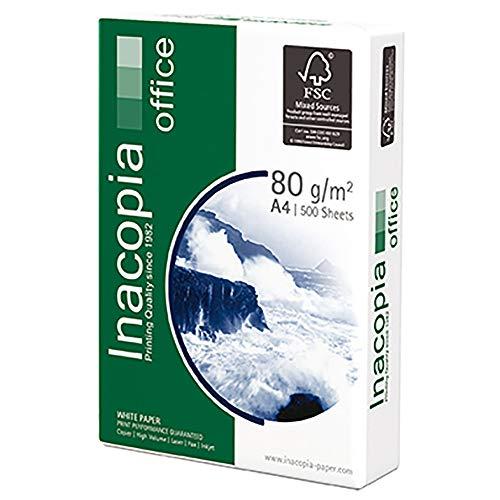 Kopierpapier Inacopia office, A4, Weißgrad 160 CIE, 80 g/qm, PG=500 BL, weiß