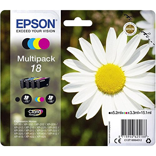 Cartucce Epson C13T18064012 MULTIPACK