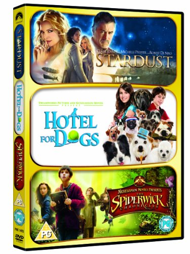 Stardust /Hotel For Dogs / The Spiderwick Chronicles [DVD]