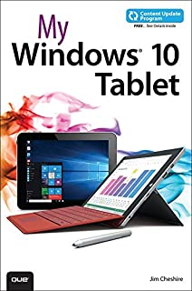 My Windows 10 Tablet (includes Content Update Program): Cove