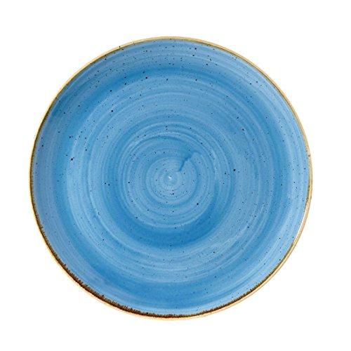 Churchill Stonecast platos redondos de cerámica azul 260mm